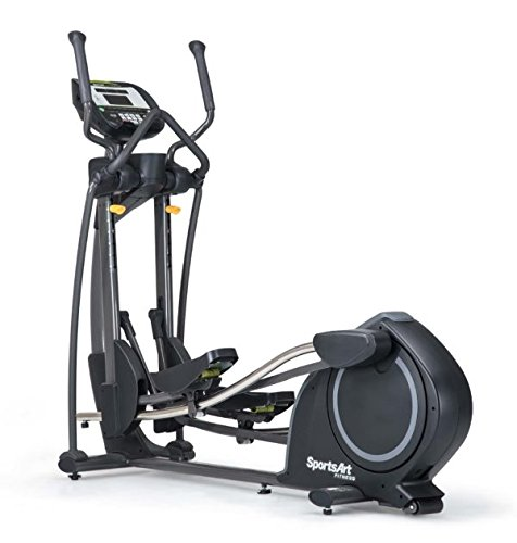 Ironcompany.com SportsArt Fitness E835 Foundation Series Elliptical Trainer - Self Powered - Residential and Light Commercial Elliptical Cross Trainer (Light Commercial Elliptical)