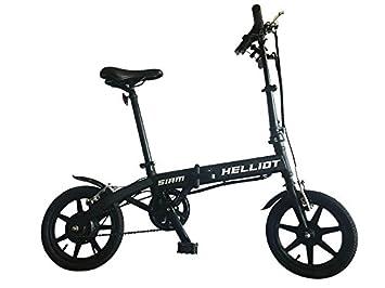 All-Bikes Bicicleta Eléctrica Plegable con Batería de Litio 36V y Motor de 250W en
