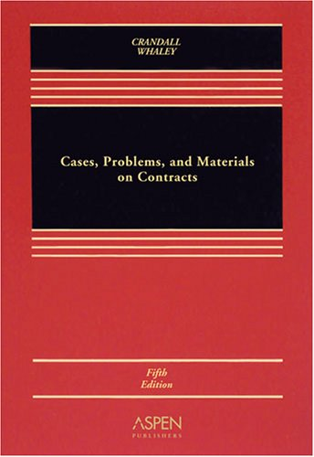 Cases, Problems & Materials Contracts