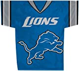 NFL Detroit Lions Jersey Banner (34-by-30-Inch/2-Sided)