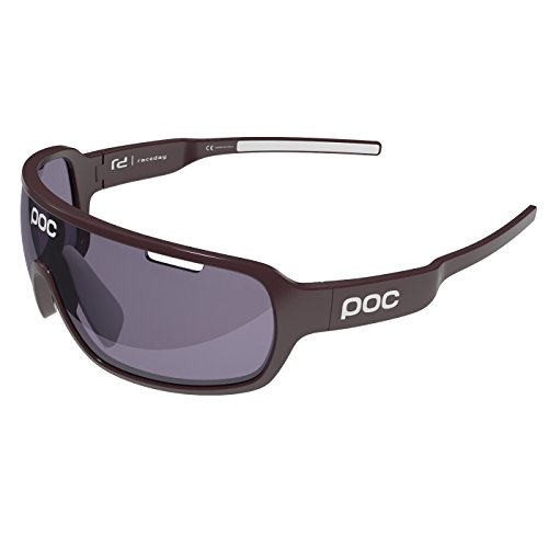 POC DO Blade Sunglasses, Granate Red/Hydrogen White, One Size