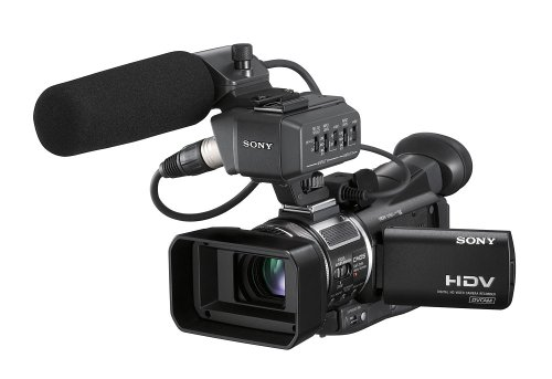 Sony Professional HVR-A1U CMOS High Definition Camcorder with 10x Optical Zoom (Discontinued by Manufacturer) HVRA1U
