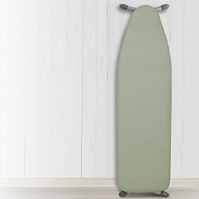 Heat Reflective Ironing Board Replacement Pad and Cover in Green White