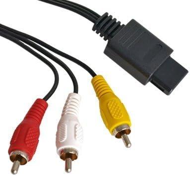 AV/TV Video Audio Cable para Nintendo N64 Gamecube NGC