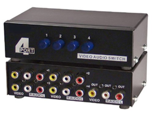 imbaprice-4-way-av-switch-rca-switcher-4-in-1-out-composite-video-l-r-audio-selector-box-for-dvd-stb