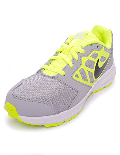 6 Shoes Nike Gs Unisex Multisport black Indoor Kids' Ps Downshiffter grey yellow U5w5aO
