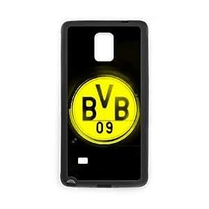 Samsung Galaxy Note 4 Phone Case Black Borussia Dortmund BVB Bundesliga Football Club BVB Logo KQ9988287