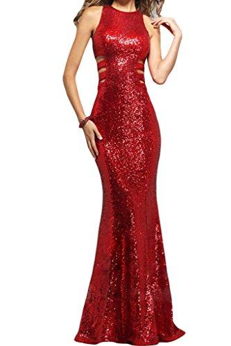 Bete linea dell'abito timando sessualmente Ivydressing sera Rot Donna da saldamente vestito EF circa HOxZXnRw