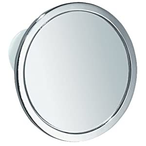 InterDesign Suction Shaving Mirror For Shower Or Bathroom