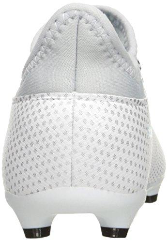 adidas Performance Kinder X 17.3 FG J Fußballschuh Weiß / Energy Blue / Klares Grau