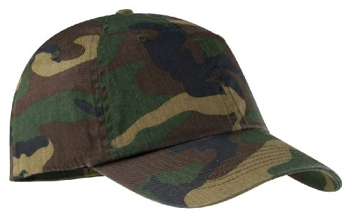 Port Authority Camouflage Cap - Military Camo C851 OS Army Baseball Cap Hat