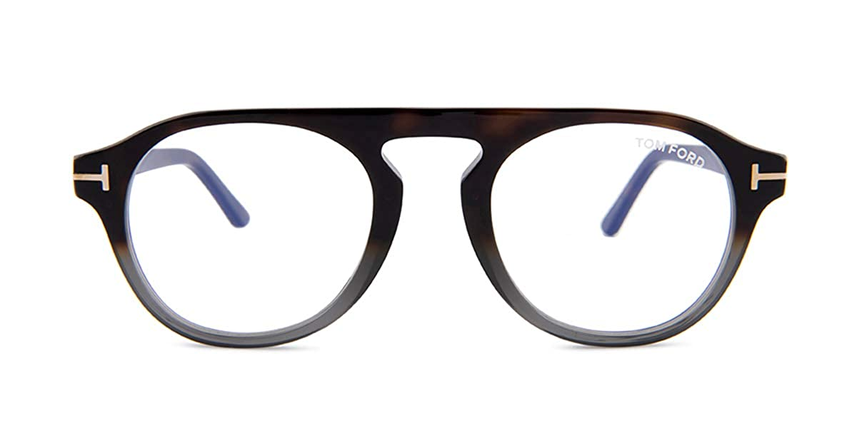 ab9696ce6a Eyeglasses Tom Ford FT 5533 -B 55A coloured havana smoke at Amazon Men s  Clothing store