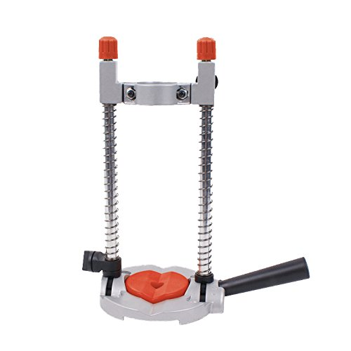 Connex COM870800 Mobile/Swivellable Drilling Stand, Silver/Black/Red Conmetall