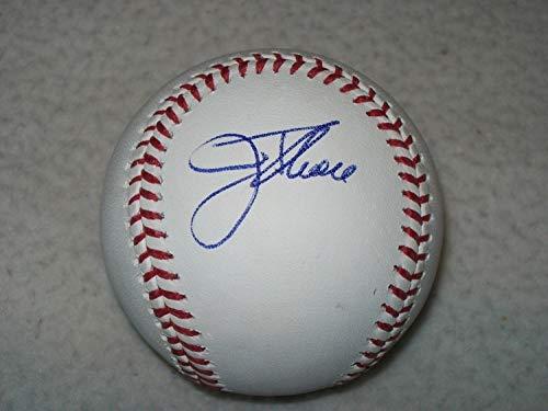 Jim Thome Hof Autographed Signed Manfred MLB Baseball White Sox Indians Psa ()