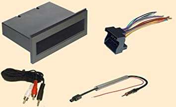 41TFctRVq8L._SX355_ amazon com single din radio installation part for vw volkswagen vw wiring harness kits at readyjetset.co