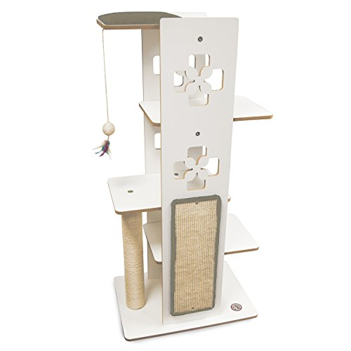 Majestic Pet Luxe Modern Cat Tree Condo Furniture by Products,