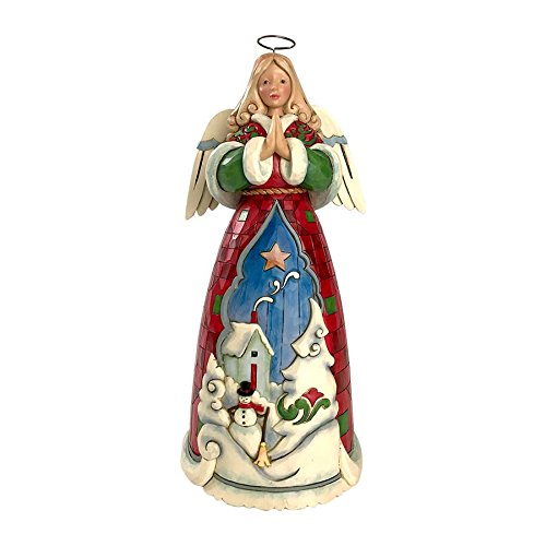Folk Art Angel Figurine - 8