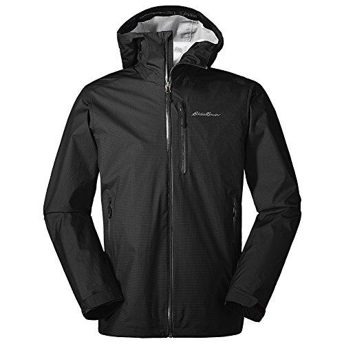 Eddie Bauer Men's BC Alpine Lite Jacket, Black Regular XL