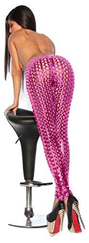 NEW Mesdames Rose Brillant Hollow Out pour Femme Robe d'été Club Wear Legging Taille M pour 10–12