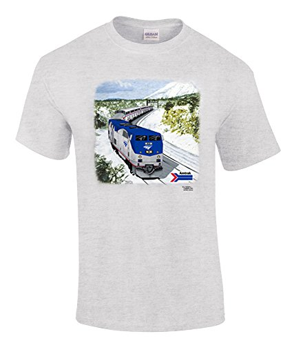 Amtrak Southwest Chief Authentic Railroad T-Shirt Adult Large [31]