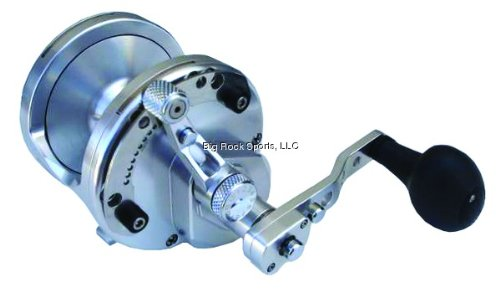 Cheap Avet HX5/2S Lever Drag 2-Speed Reel, Silver Finish