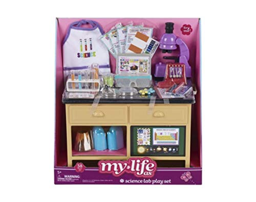 myLife Brand Products Doll Sets (Science Lab Play Set)