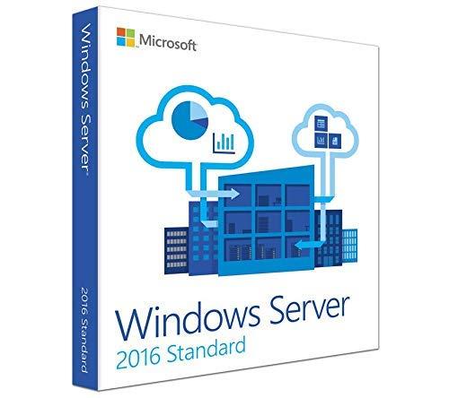 Microsoft Windows Server 2016 Standaardoem P73-07063 Kleinhandelsdoos met 64 bits met 10 CAL's