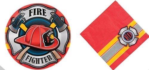 Firefighter Fireman Party Set Fighter