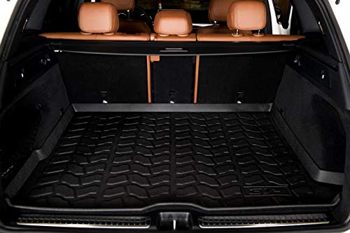 3W Cargo Liner for BMW X5 (2014-2018) Harmless Heavy Duty Custom Fit Trunk Mat, Black