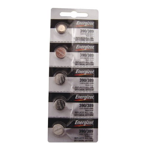Energizer 390 389 Silver Oxide