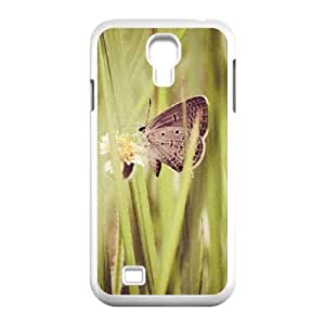 Cases for Samsung Galaxy S4, Butterfly 61 Cases for Samsung Galaxy S4, Evekiss White