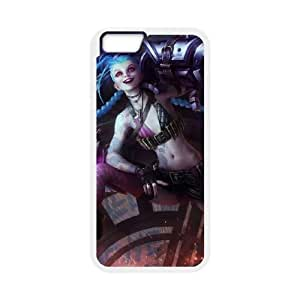 iPhone 6 4.7 Inch Cell Phone Case White League of Legends Jinx 0 LM5610675
