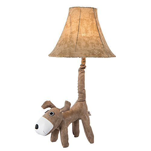 Children Night Light LED Kid's Table Lamp For Bedroom Cute Face Animal Decorative Leather Dog Desk Lamp Review