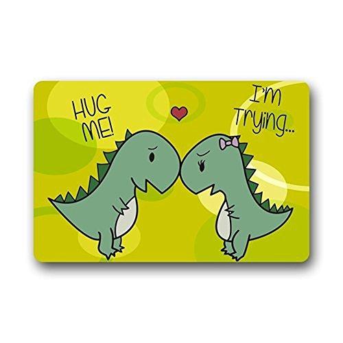 Family Door Mat (Dinosaur