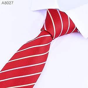 LFLJIE Hombres Corbatas Corbata 8cm Clásica Boda de Negocios para ...