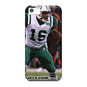 Protector Cell-phone Hard Covers For Iphone 5c (rOR1312xqRd) Allow Personal Design Trendy New York Jets Pictures