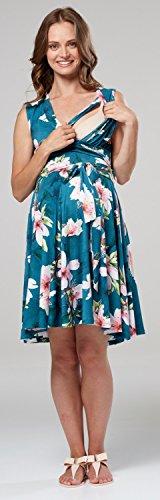 Heureux Mama Zeta Ville Robe Patineuse En Couches Infirmière Femmes Mode Style Midi Sans Manches 2