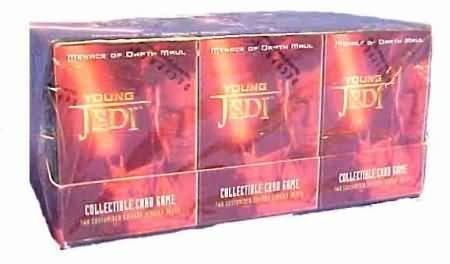 Young Jedi Ccg - Young Jedi CCG: Menace of Darth Maul Sealed Starter Deck Box