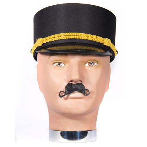 [HMS Foreign Legion Bellboy Authentic Movie Quality Hat, Black, One Size] (Bellboy Costumes)