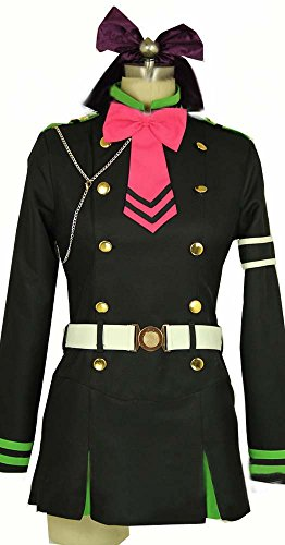 Camplayco Seraph of the End Holly Shinoa Cosplay Costume