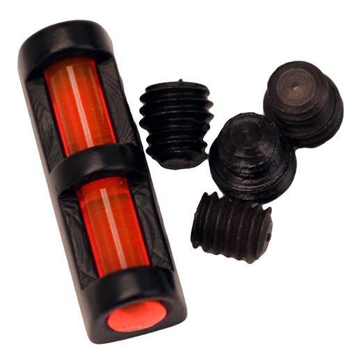 TRUGLO Long Bead Fiber Optic Shotgun Sight Universal Red (Fiber Shotgun)