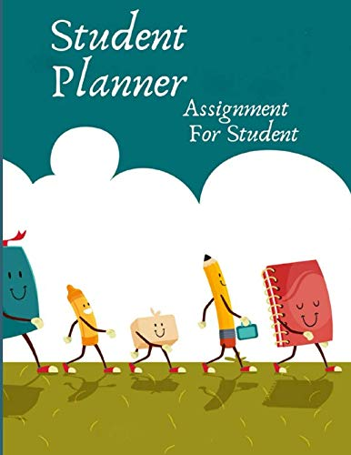 Student Planner Assignment For Student: Academic Year Lesson Plan and Record Book . Weekly and Monthly Student Planner. With Blank Calendar (Gift)
