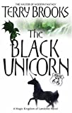 Front cover for the book The Black Unicorn by Terry Brooks