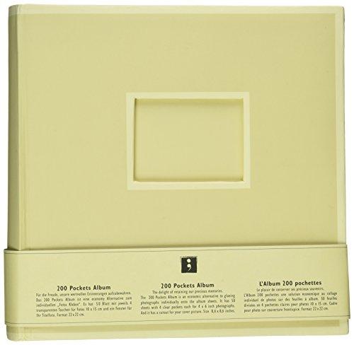 Semikolon 200 Pocket Bound PhotoAlbum, Chamois (0420017)