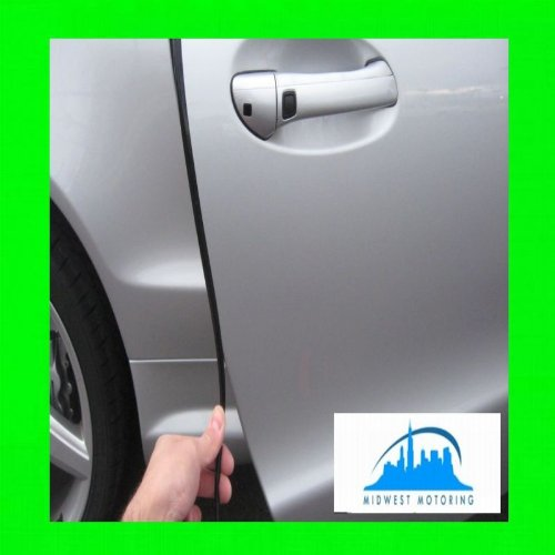 [2007-2012 CHEVY CHEVROLET SUBURBAN BLACK DOOR EDGE TRIM MOLDING ROLL 15FT 2008 2009 2010 2011 07 08 09 10 11 12] (Chevy Suburban Edge)