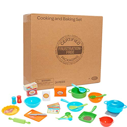 Just Play 81816 Cooking & Baking Set, Multi-Color, Multicolor ()