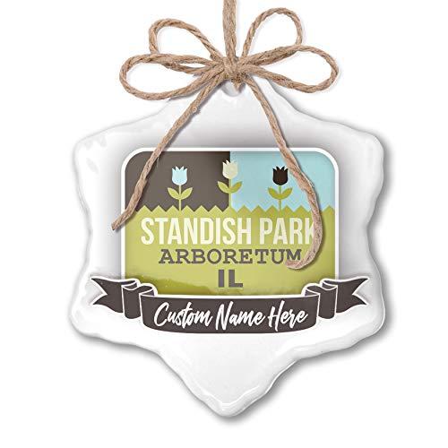 NEONBLOND Create Your Ornament US Gardens Standish Park Arboretum - IL Personalized