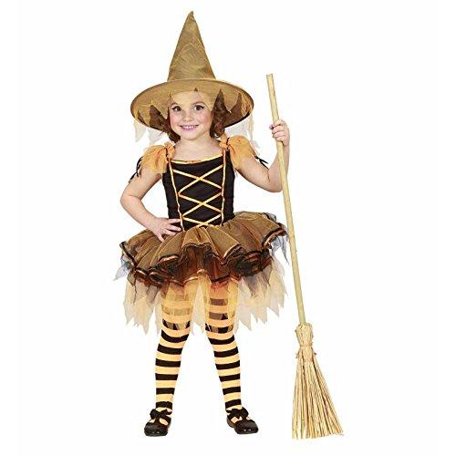 (Children's Ballerina Witch Costume Infant 3-4 Yrs (110cm) For Halloween Fancy)