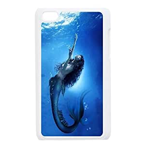 Ipod Touch 4 The little mermaid Phone Back Case Customized Art Print Design Hard Shell Protection YG017319
