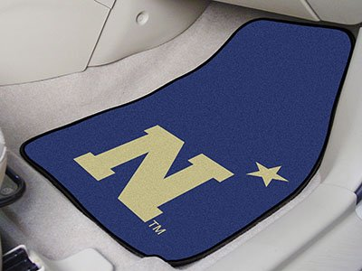 Front Car Mats - Set of 2 - US Naval Academy
